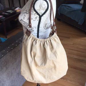 American Eagle outfitters tan tote